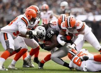 Pós Jogo Browns 42 x 45 Raiders