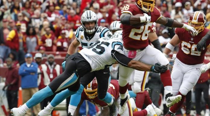 Redskins vs Panthers Semana 6 NFL