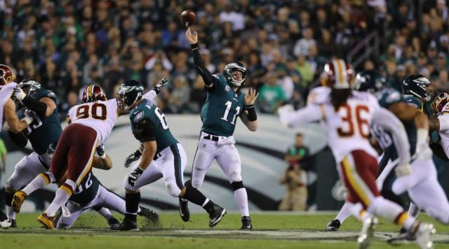Redskins at Eagles: Pós