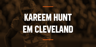 Cleveland Browns contrata RB Kareem Hunt