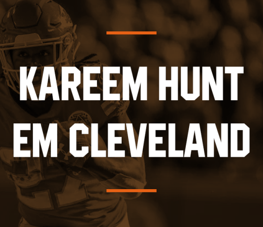 Cleveland Browns contrata RB Kareem Hunt