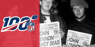 John Lennon no Monday Night Football