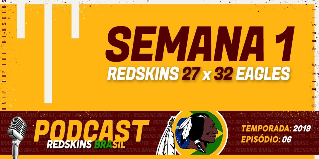 Redskins at Eagles Semana 1 2019