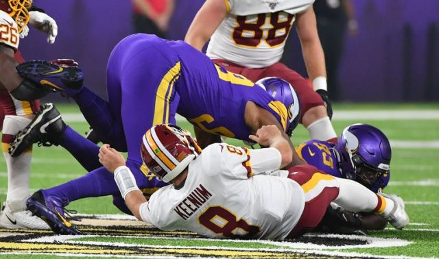 Podcast Redskins at Vikings