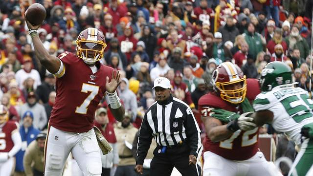 Podcast Redskins vs Jets