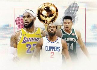 Conforme a data para o retorno da NBA vai se aproximando a expectativa por quem será o grande campeão cresce. Listamos alguns dos principais canditados.