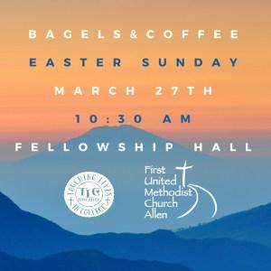 Bagels and CoffeeEaster Sundaythatmakesmyday (1)