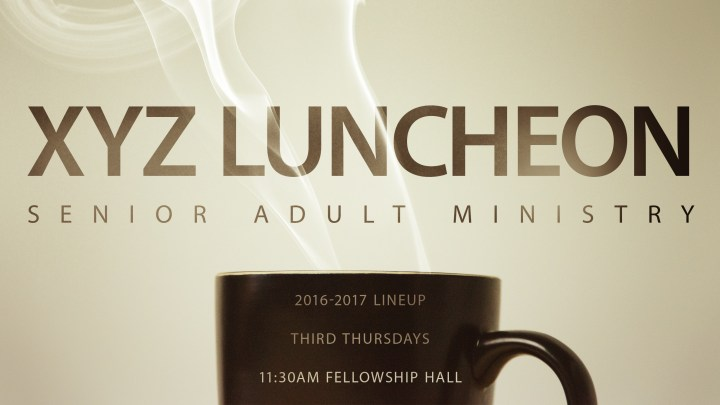 XYZ Luncheon 2016
