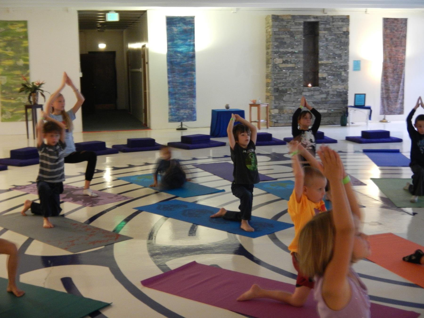 yoga AFKS labyrinth