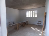 One of the classrooms we finished painting