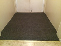New carpet for entry way!