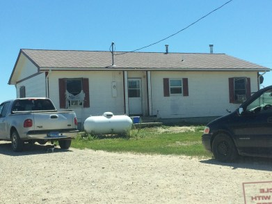 The house we served at the last work day that houses 12 kids between 1-18