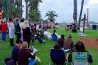 2015 Easter Sunrise Service @ Palisades Park