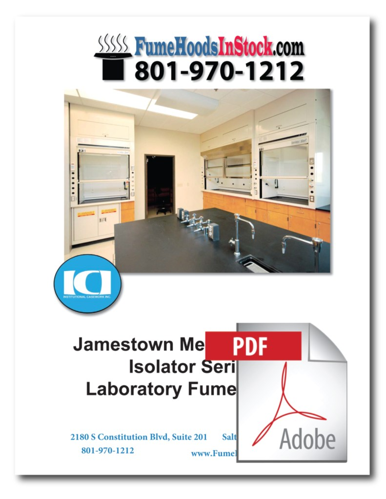 Jamestown Bench Top Fume Hoods PDF