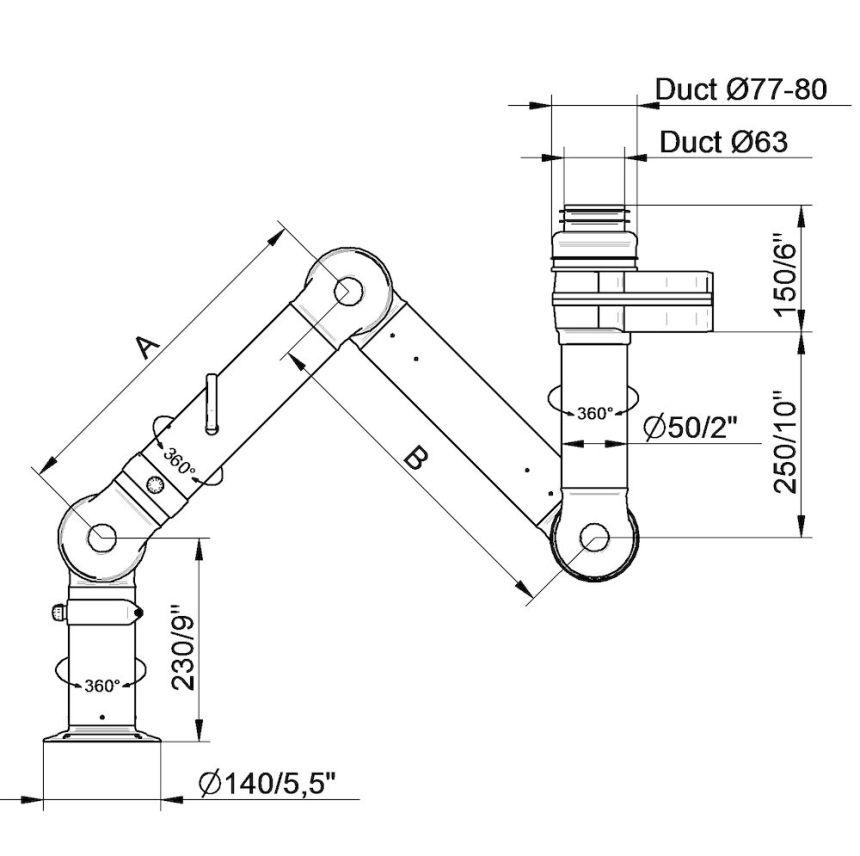 Duct Work Diagram