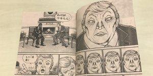 Donald Trump Manga