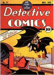 Detective Comics #27, copertina di Bob Kane