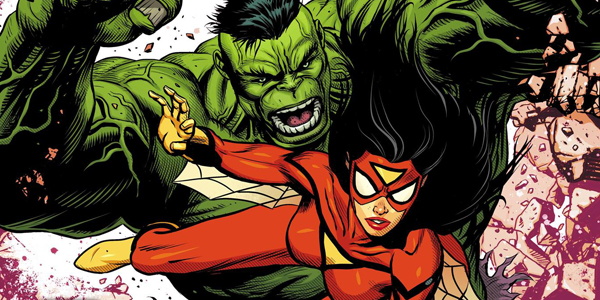 Hulk e Spider-Woman