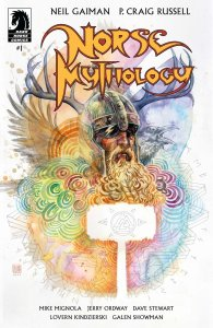 Norse Mythology #1, variant cover di David Mack