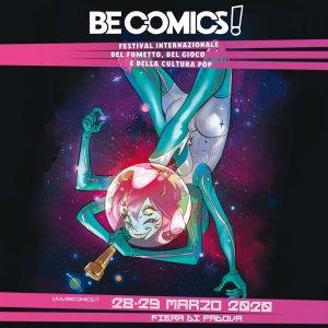 Be Comics! 2020, locandina di Mirka Andolfo