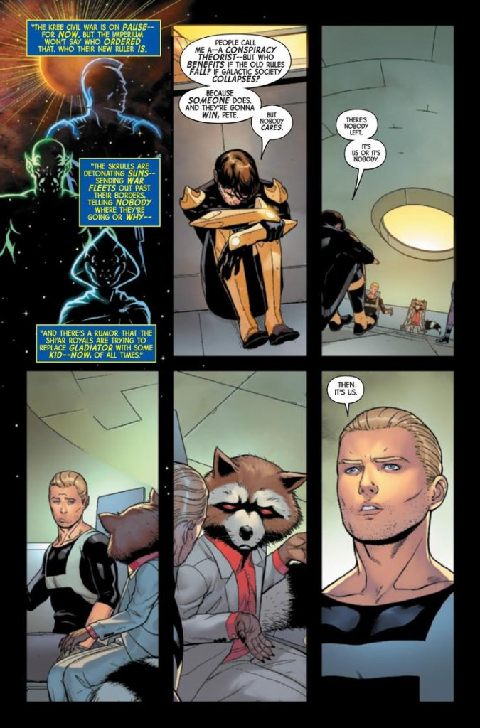 Guardians of the Galaxy #1, anteprima 07