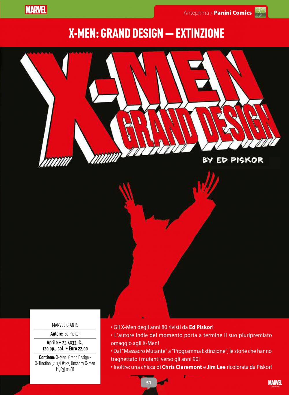 X-Men Grand Design su Anteprima