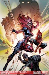 Amazing Spider-Man Presents: Jackpot #1, copertina