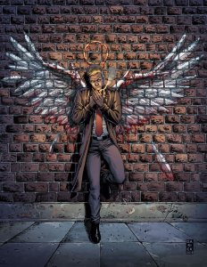 Hellblazer Rise and-Fall #1, copertina di Darick Robertson