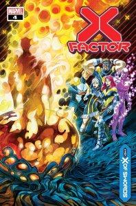 X-Factor #4, copertina di Ivan Shavrin