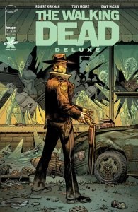 The Walking Dead Deluxe #1, variant cover di Tony Moore