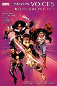 Marvel's Voices: Indigenous Voices, copertina di Jim Terry
