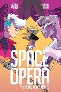 Space Opera 2, copertina di Eleonora Bruni