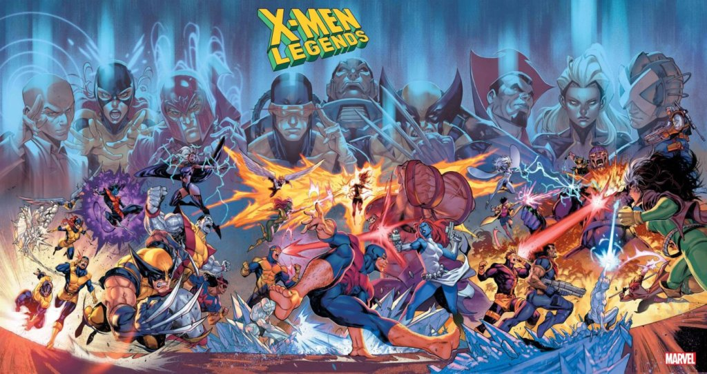 X-Men Legends #1, variant cover di Iban Coello