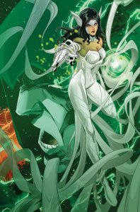 Infinite Frontier #0, variant cover di John Timms