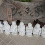 【讃岐うどん】入口で七福神が迎えてくれる『純手打ちうどん ひちふく亭』