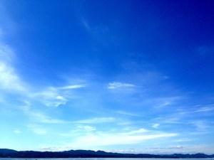 7月1日の青空