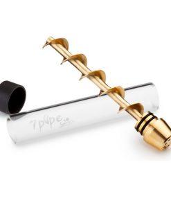 Vaporizador 7 Pipe Twisty - Dorado (2)