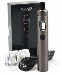 Vaporizador electrónico en Colombia Ego Aio All in one joyetech Gun Metal bateria 1500 mAh
