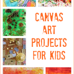 Canvas Art Ideas For Kids To Make Fun A Day