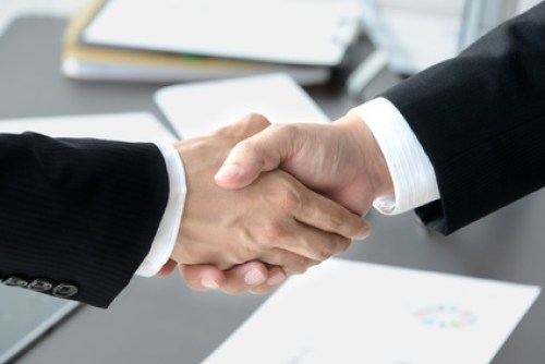 ビジネスイメージ―契約成立
