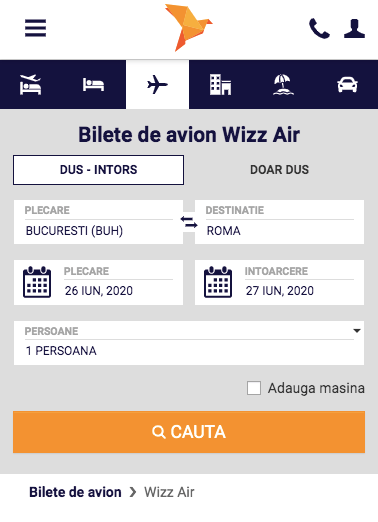 Veltravel Wizz Air