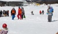 雪獅子祭エアスノーモービル