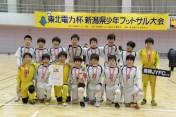 優勝の長岡JYFC U-12