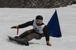 スノーボード総合優勝の川瀬翔太選手