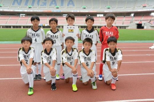 フェニックストーナメントで優勝したレアル加茂FC