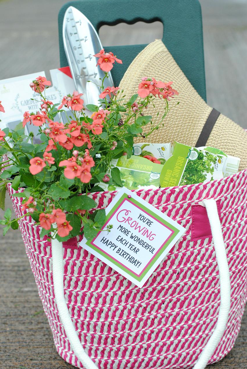 Fun Gardening Gift Basket Idea Fun Squared