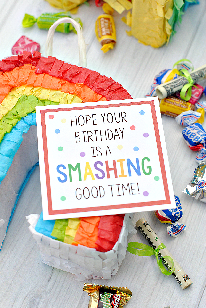 Golden Birthday Gift Idea – Fun-Squared  Fun Birthday Favor Ideas