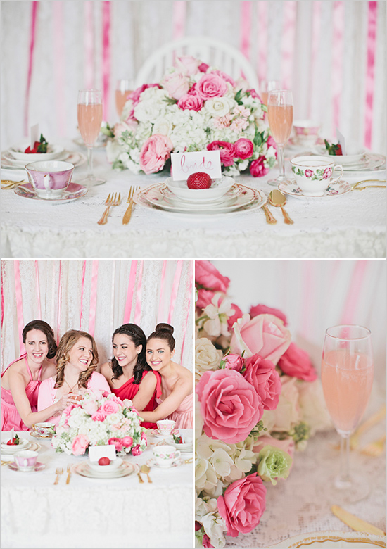 Bridal Shower Theme Pink Party Ideas