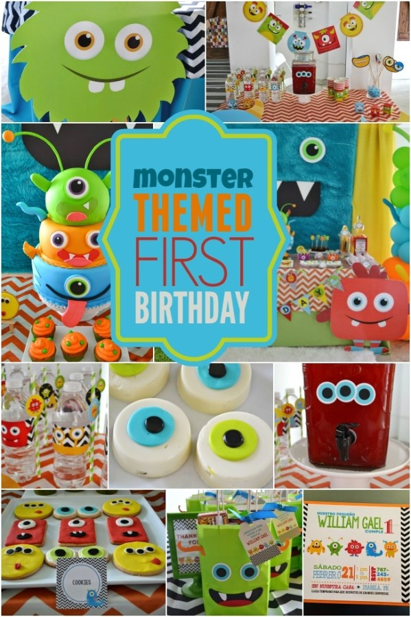 Monster Birthday Party Themes