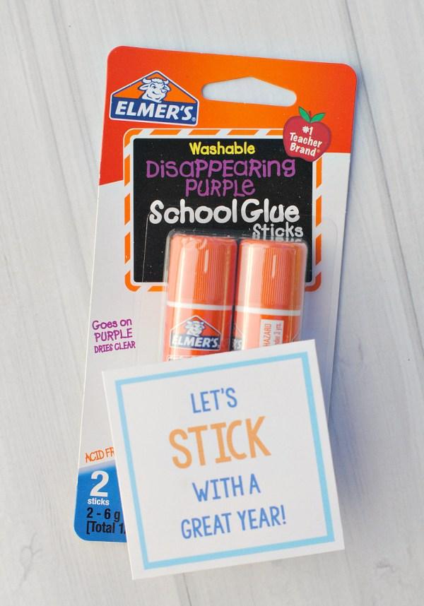 Glue Gift Tags